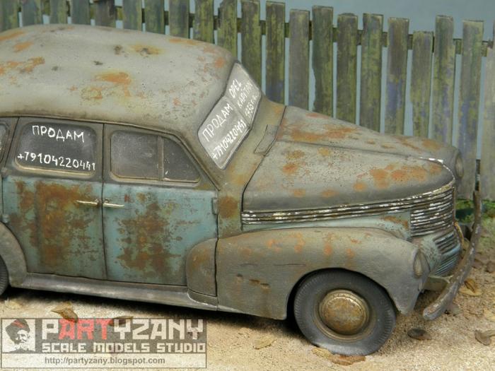 Работа Алексея Груздева. Opel Kapitan Saloon. (16 фото)