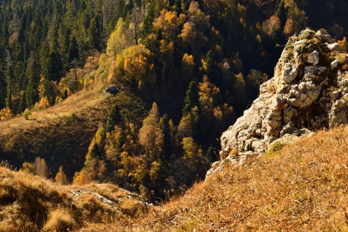 Адыгея. Большой Тхач. Октябрь 2013 г. Часть 2. Тхачи и Ачешбоки. (30 фото)