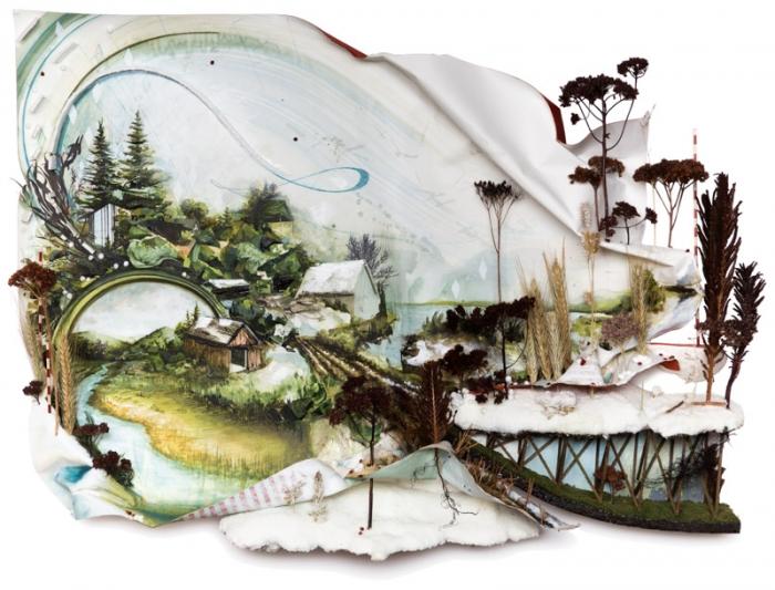 Рельефные картины Грегори Эвклида (Gregory Euclide). Часть 1. (50 фото)