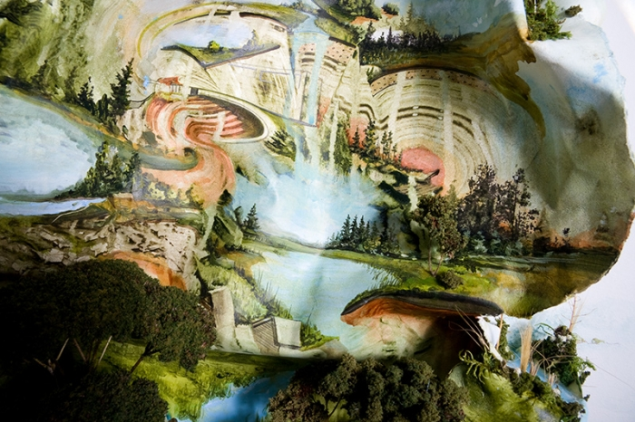 Рельефные картины Грегори Эвклида (Gregory Euclide). Часть 2. (48 фото)