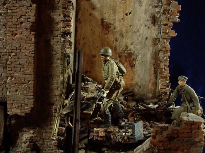 """Работа Олега Ланского. """"Сталинград – Берлин"""". Часть 1. (51 фото)"""