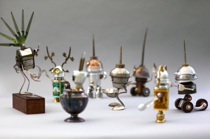 Брайан Маршалл (Brian Marshall) и его роботы. Часть 4. (50 фото)