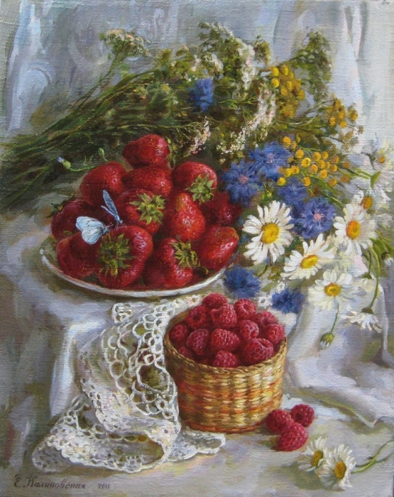 Фото натюрморты с ягодами