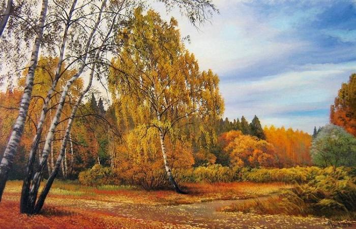 Работы художника Былич Александра Леонидовича. Часть 1. (50 фото)