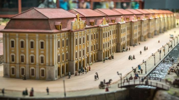 Исторический театр - макет «Петровская Акватория». (92 фото)