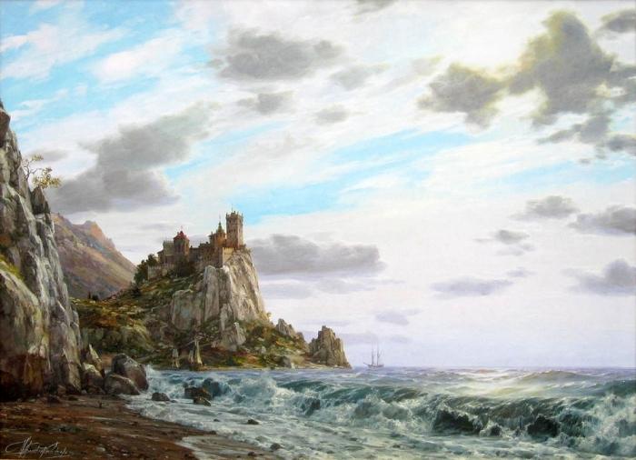 Работы худоджника - мариниста Валерия Черненко. Часть 1. (36 фото)