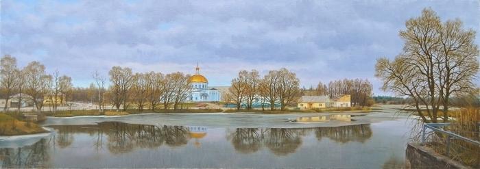 Работы художника Александра Васильевича Зорюкова. Часть 4. (40 фото)