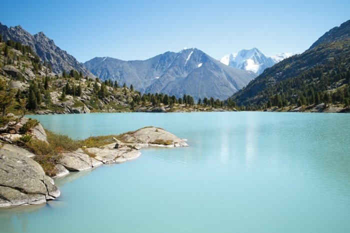 Озеро Дарашколь (Алтай). 21 фото.