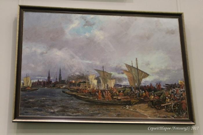 Центральный военно-морской музей г. Санкт-Петербург. Часть 2. Зал славы Русского флота. (66 фото)