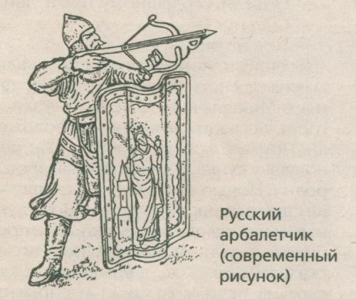 АРБАЛЕТ В ИСТОРИИ СРЕДНЕВЕКОВОЙ РУСИ.