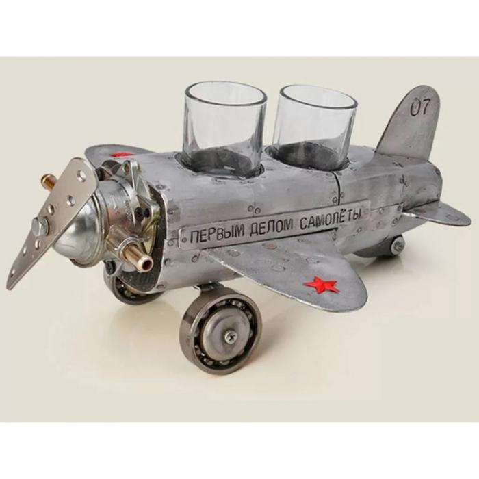Набор рюмок «Первым делом самолеты»